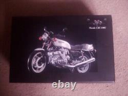 1.12 scale minichamps Honda CBX silver