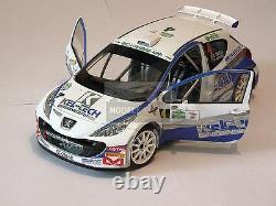 1/18 scale CRAIG BREEN PEUGEOT 207 S2000 Circuit of Ireland 2012