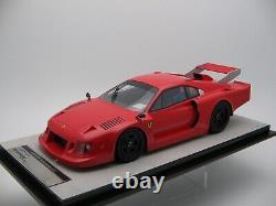 1/18 scale Tecnomodel Ferrari 308 GTB Turbo Press Test 1981 code TM18-100D
