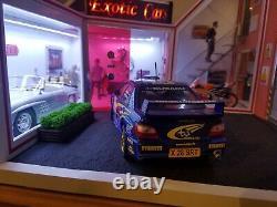 1/18 scale diorama Cars Handmade Builds/Showroom/Garage