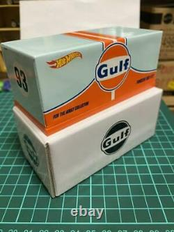 1-64 Scale Gulf Racing Porsche 993 Hot Wheels RLC GT2 Limited Edition with Box