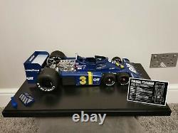 1/8 Scale Tyrrell p34 Model F1 car Hachette Amalgam Deagostini Eaglemoss 18