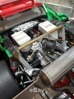 1/8 scale Ferrari F40 LM Brummel Pocher Altaya Centauria Amalgam Custom