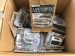 1/8 scale Lancia Delta FULL KIT 1-100 Centauria hachette altaya, pocher