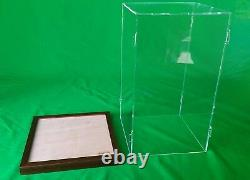 10 x 10 x 18 inch display case for Hot Toy Figures 1/6 Scale, Statue, Doll Dolls