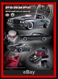 118 Scale Acme Diecast 1970 Chevrolet Chevelle SS Street Fighter Gforce