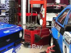 118 Scale Ford Escort Mk2 Sunstar Model Garage Diorama Workshop Glass Front