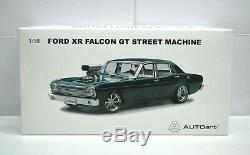 118 Scale Ford Falcon XR GT Street Machine Empire Green Autoart Model Diecast