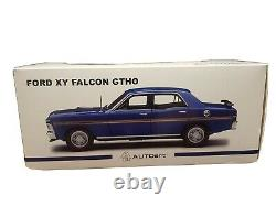 118 Scale Ford Falcon XY GTHO 1971 Rothmans Blue #37182 Autoart Diecast