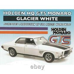 118 scale model car Holden HQ GTS Monaro Glacier White FREE POSTAGE #18721