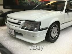 118 scale model car Holden VK HDT SS Commodore Alpine White FREE POST #B182704N