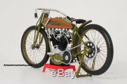 16 scale motorcycle HARLEY DAVIDSON 8VALVE BOARD TRACK RACER 1926, UNIQUE