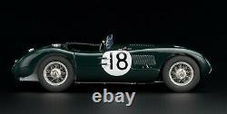 1953 Jaguar C-Type 24H Le Mans Winner #18 by CMC in 118 Scale Diecast CMC195