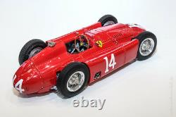 1956 Ferrari D50 GP France #14 Collins Diecast Model in 118 Scale by CMC M-182