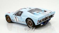 1966 Ford GT40 Mark II 112 Scale #1 Ken Miles Ford vs. Ferrari ACME MINT IN BOX