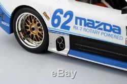2015 Mazda RX-7 GTO IMSA #62 by in 118 Scale by Truescale Miniatures TSM161810R