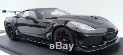 2019 Corvette ZR1 Fine High End Resin Model in 118 Scale in Black LTD ED 299