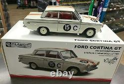 37802 1964 Bathurst Winner Jane Reynolds Ford Cortina Gt 118 Scale Model Car