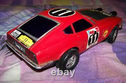 ALPs TOY NISSAN DATSUN FAIRLADY 240Z 1971 SAFARI RALLY WINNER s30 scale 115 old