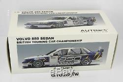 AUTOart 118 scale Volvo 850 Sedan BTCC 1995 Presentation Rydel l /Harve(#89596)