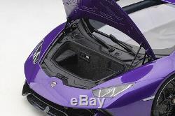 AUTOart 12078 Lamborghini Huracan Performante (Pearl Purple) 112 Scale