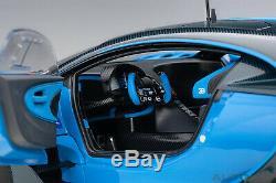 AUTOart 70986 Bugatti Vision Gran Turismo Light Blue/Blue Carbon 118TH Scale