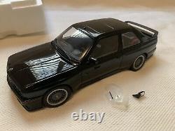 AUTOart Millennium BMW E30 M3 Sport Evolution 118 Scale Black (G4)