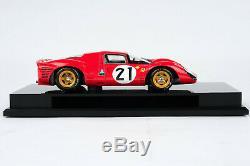 Amalgam Ferrari 330P4 118 scale #21, 2nd Le Mans 1967 Ford v Ferrari