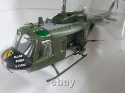 Armour Bell UH-1D Huey 1st Calvalry Medevac 148 Scale Diecast Army Helicopter