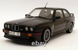 AutoArt 1/18 Scale Diecast Car 70562 BMW E30 M3 Sport Evolution Black