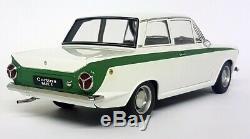 Autoart 1/18 Scale 75331 Lotus Cortina MK1 White / Green Diecast Model Car