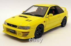 Autoart 1/18 Scale Diecast 78611 Subaru Impreza WRX Type R Yellow