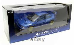 Autoart 1/18 Scale diecast 78601 Subaru Impreza 22B RHD Metallic blue