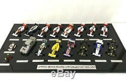 Ayrton Senna 1/43 Scale MINICHAMPS Car Collection 17pcs Complete Set LE
