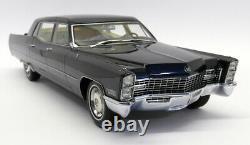 BOS 1/18 Scale BOS393 Cadillac Series 75 Limousine Metallic Dark Blue