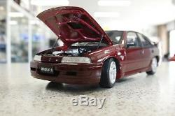 Biante Holden VN Commodore SS Group A Durif Red 118 Scale Model