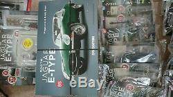 Build Your Jaguar E-Type Model Scale 18