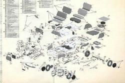 Build the GAZ M20 Pobeda scale 1/8 from Deagostini 100 magazine