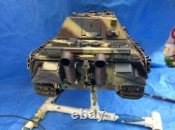 Built 1/18th Scale Custom Late Jagdpanther Ultimate Soldier 21st Century Tank