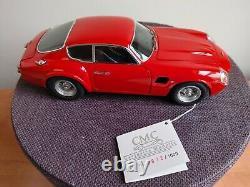 CMC 1/18 scale Aston Martin DB4 GT Zagato, Diecast, RED, Rare Beautiful Condition
