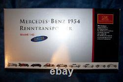 CMC Mercedes Benz Renntransporter Blaues Wunder scale 143 M 036K ovp MISB