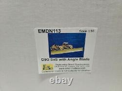 Caterpillar Cat D9G SXS Dozer with Angle Blade EMD 150 Scale Model #N113 New