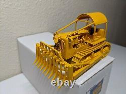 Caterpillar D9G Forestry Dozer with Rake Blade & Winch EMD 150 Scale #N096 New