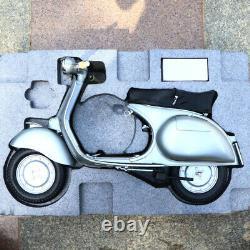 Collectible 1/3 Scale Piaggio Vespa gs150 Motorcycle Diecast Scooter Car Model