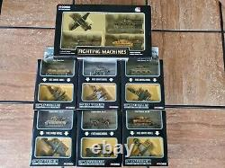 Corgi Fighting Machines WWII D-Day US German Tanks Planes 172 Scale Diecast Lot