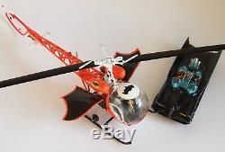 Customized Batman's Batcopter-In Scale to the Corgi Batmobile