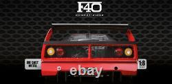 DEAGOSTINI BUILD FERRARI F40 COMPETIZIONE 1/8 SCALE 100 complete set FULL POCHER