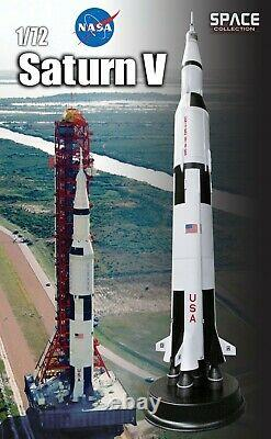 DRAGON SPACE 50388 Saturn V Rocket Apollo 11 NASA Display Stand 172nd scale 60