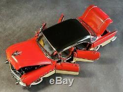 Danbury Mint 1956 Buick Roadmaster Riviera 4-Door 124 Scale Diecast Rare Car
