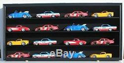 Display Case Wall Cabinet for 124 Scale Diecast Nascar Cars Hot Wheels